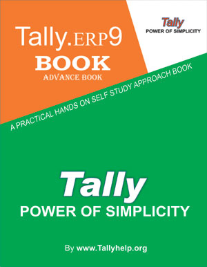 tally erp 9 latest version book